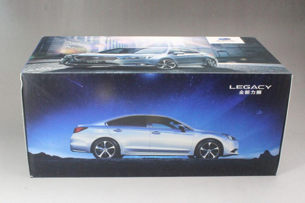 Коллекционная модель SUBARU LEGACY 2018 SILVER