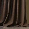 Комплект штор и покрывало Джулия коричневый