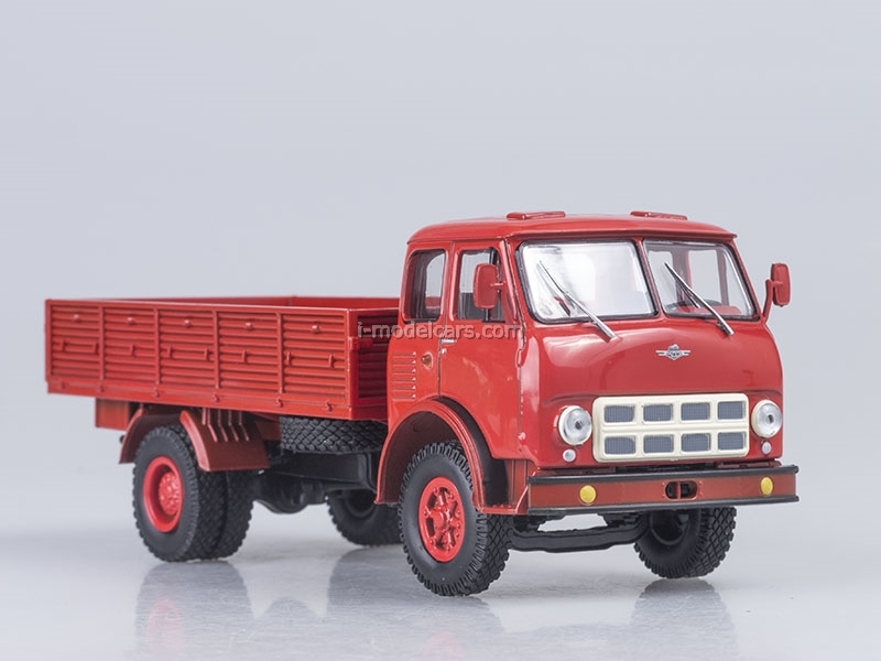 MAZ-500A board 1973 red 1:43 Nash Avtoprom
