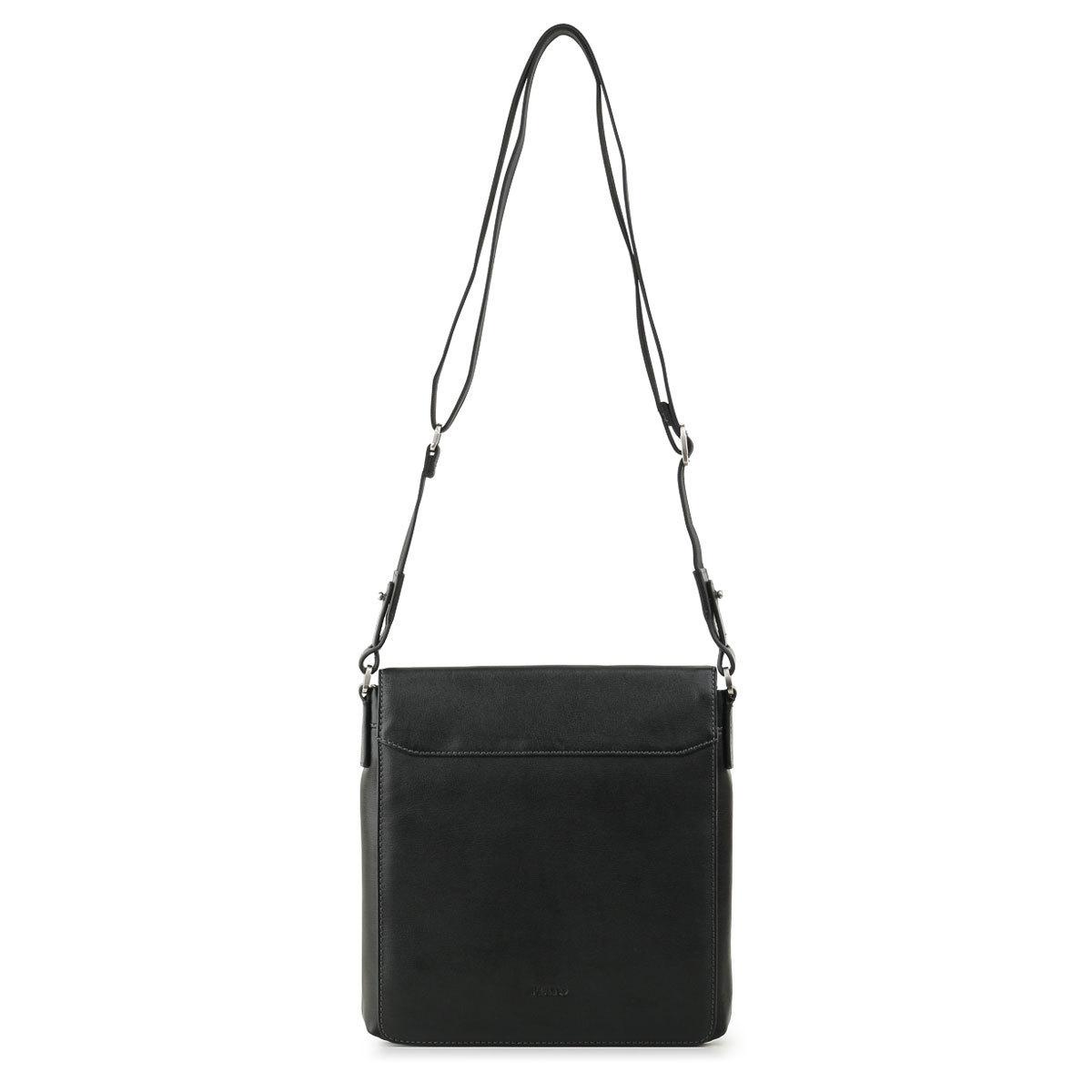 м13596 Fiato  кожа черный  (сумка мужская)
