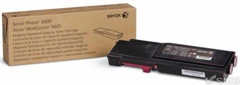 Тонер-картридж пурпурный Xerox Phaser 6600 / WC6605 (106R02250). Ресурс 2000 страниц