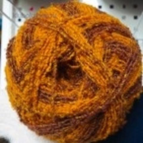 Пряжа Суперфантазийная цвет 492 Краски осени желто-коричневый Пехорка - купить в интернет-магазине Клубок Шоп