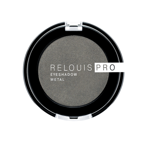 Relouis pro Тени для век Eyeshadow Metal тон 55 Anthracite