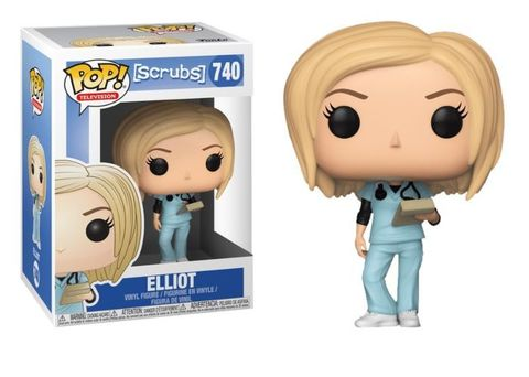 FUNKO POP! Vinyl: Scrubs: Elliot 36343