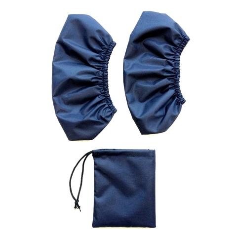 Бахилы (35-46 размер) ВЗРОСЛЫЕ Синие (с мешочком)