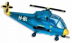 Вертолет (синий) F 38