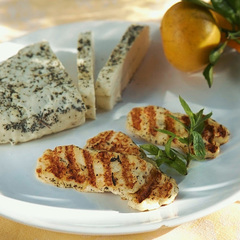 Сыр Халлуми для жарки c мятой (Булатово)