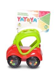 ЯиГрушка Машинка-неразбивайка зелёно-красная (12018ЯиГ)