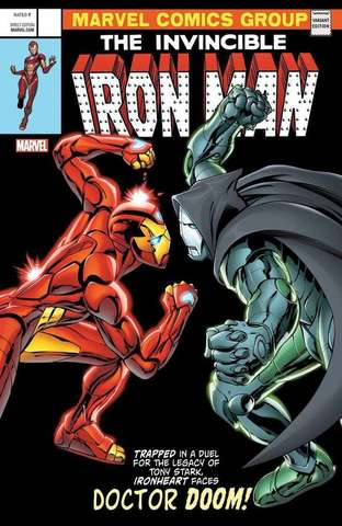 The Invincible Iron Man # 593 Lenticular Cover