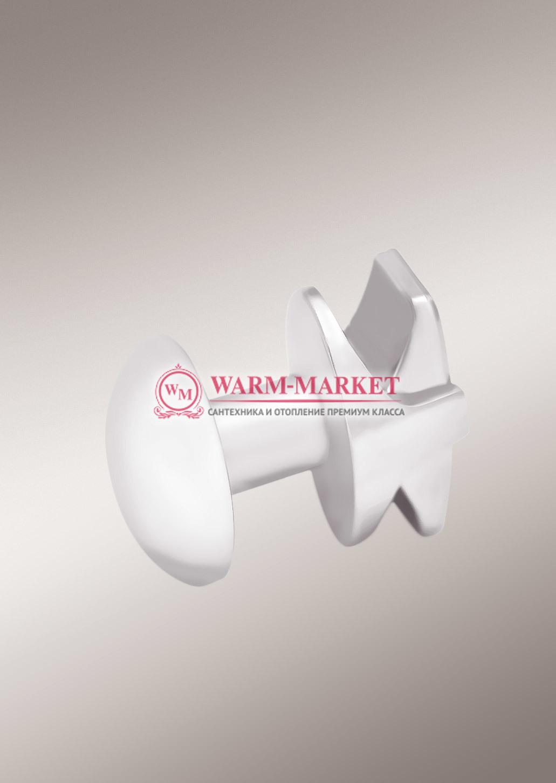 Крючок округлый для полотенцесушителей и радиаторов.