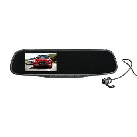 Автомобильный видеорегистратор зеркало SilverStone F1 NTK-351Duo