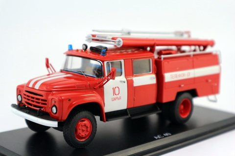 ZIL-130 AC-40 63B fire engine Sharya Start Scale Models (SSM) 1:43 used