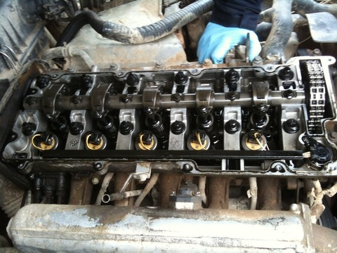 Замена головки блока цилининдров двигателя