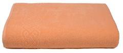 Простыня Plait оранжевая махр.