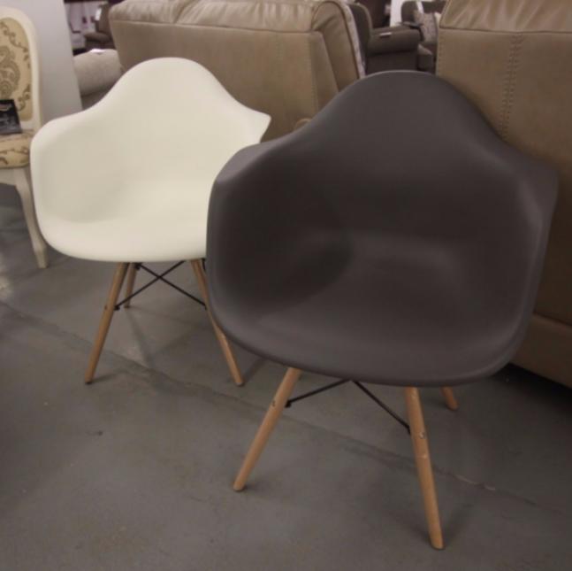 Кресло HUGO MARENGO (маренго) и Кресло HUGO MARENGO (белое)