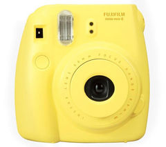 Fujifilm Instax Mini8 yellow