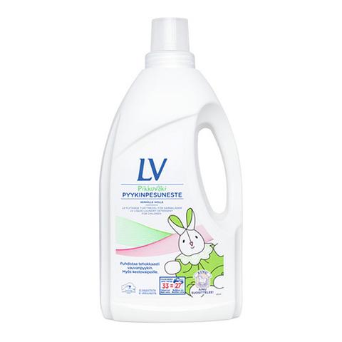 LV Гипоаллергенное жидкое средство для стирки детской одежды, 1500 мл