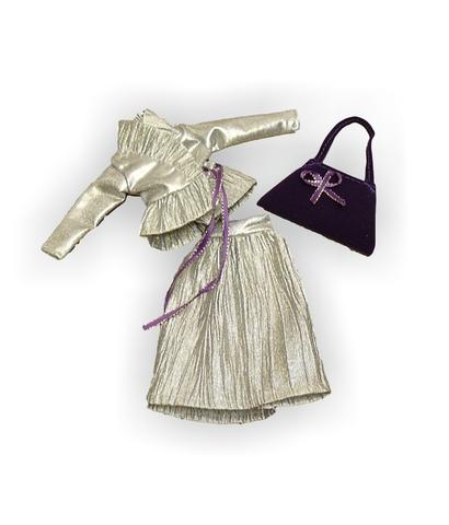 Костюм с жакетом - Детали. Одежда для кукол, пупсов и мягких игрушек.