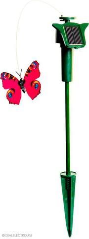 Украшение садово-парковое «бабочка» на солнечной батарее, батарейка 1*ААА, Е5205 (Feron)