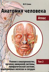 Анатомия человека. Атлас в 3-х томах. Том 2. Учение о внутренностях, органах имунной системы, лимфатической системе, эндокринных железах и сосудах