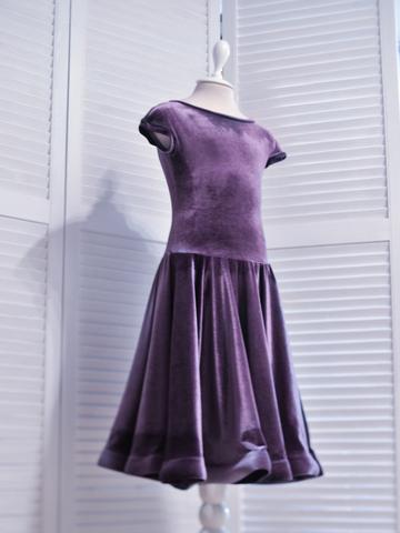 Рейтинговое платье арт.Re27бархат