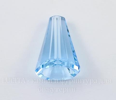 5540 Бусина - конус Сваровски Aquamarine  12 мм