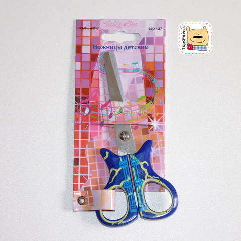 Ножницы детские 13,5см Гитара (Т32)