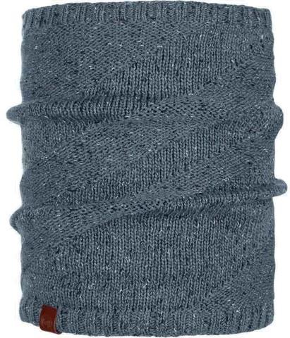 Шарф-труба вязаный с флисом Buff Neckwarmer Knitted Polar Arne Grey