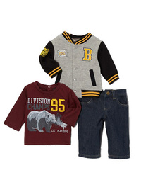 BOYZ WEAR Комплект с жакетом VARSITY КМБ25