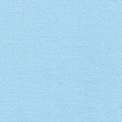 Простыня на резинке 180x200 Сaleffi Raso Tinta Unito с бордюром сатин голубая