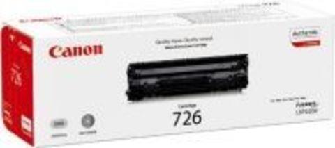 Картридж Canon C 726 для принтеров Canon LBP 6200d. Ресурс 2100 страниц. (3483B002)