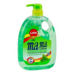 Конц.гель д/мытья посуды Mama Lemon 1000 мл(зеленый чай)