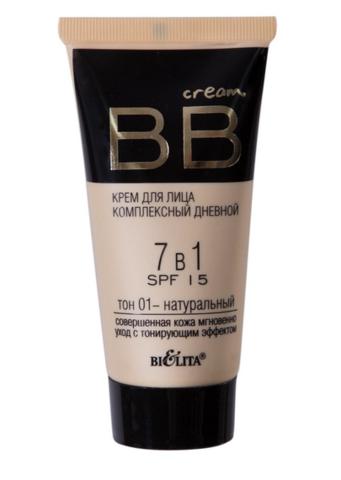 БВ BB cream Крем для лица комплекс дневной 7в1 SPF15 тон 01  30мл