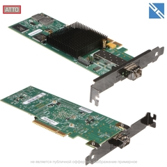 Контроллер ATTO Technology Celerity FC-81EN 1-Channel 8Gb Fibre-Channel Host Adapter