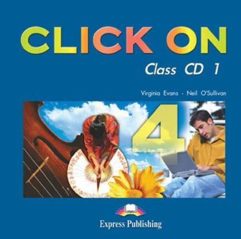 Click On 4. Class Audio CDs. (set of 6). Intermediate. Аудио CD для работы в классе