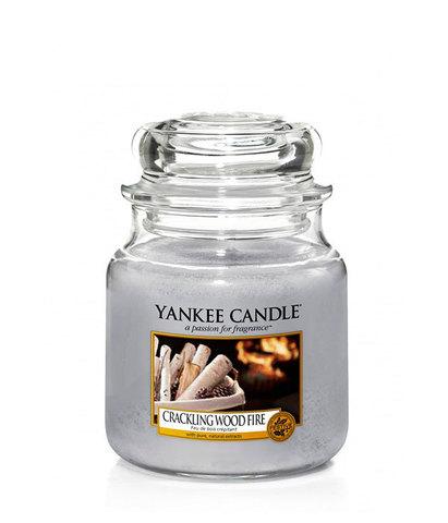 Ароматическая свеча Треск дерева в камине, Yankee Candle