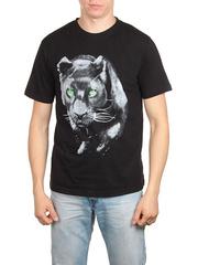 18713-1 футболка мужская, черная