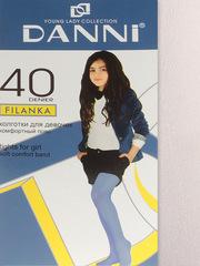 DFL111-001 FILANKA40 колготки детские, белые