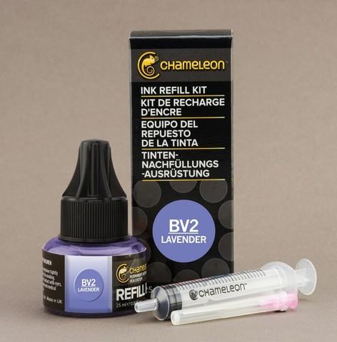 Чернила для маркеров Chameleon лаванда BV2, 25 мл