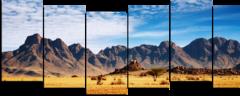 """Модульная картина """"Горы в пустыне"""""""