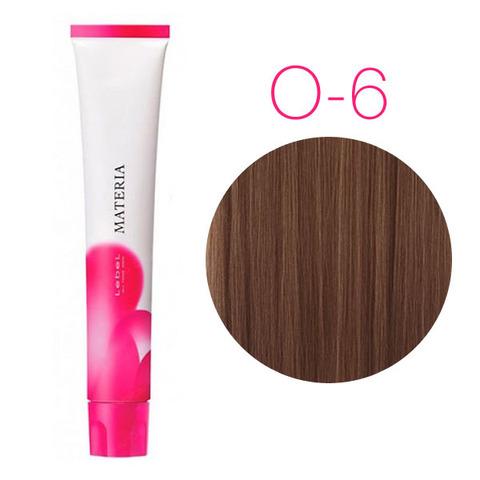 Lebel Materia 3D O-6 (тёмный блондин медный) - Перманентная низкоаммичная краска для волос