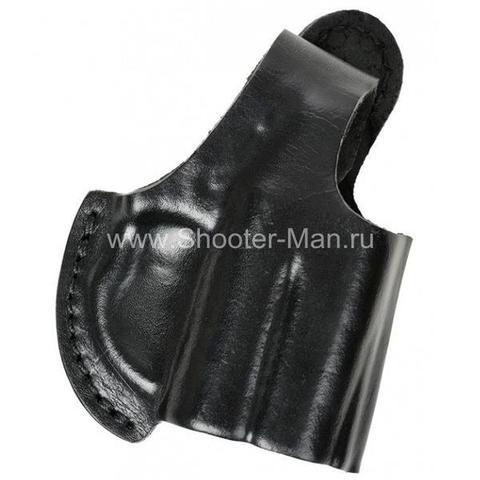 Кобура кожаная поясная для пистолета Оса ПБ-4 ( модель № 8 ) Стич Профи