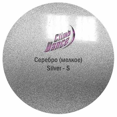 Краска Металлик Climp Dance Silver Small / Серебро Мелкое, 50 мл
