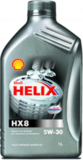 SHELL Helix HX8 Synthetic 5W-30 - Синтетическое моторное масло