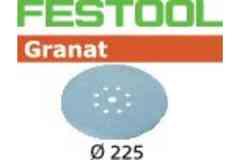 Шлифовальная бумага FESTOOL Granat P100  225 мм
