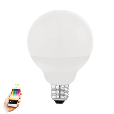 Лампа LED RGB диммируемая Умный свет Eglo EGLO CONNECT LM-LED-E27 13W 1300Lm 2700-6500K G95 11659