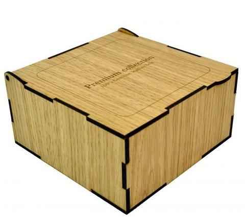 Коробка подарочная для ремня 13х13х6,5 см арт.7040