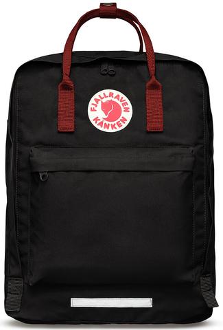 Рюкзак Fjallraven Kanken BIG Черный + Красный