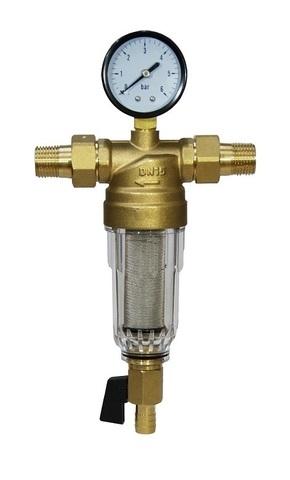 Самопромывной фильтр для холодной воды Tim 1