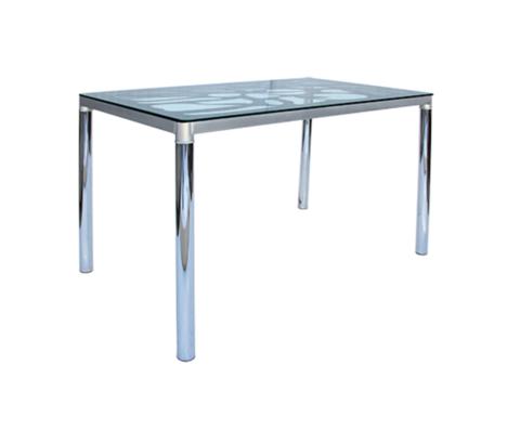Стол обеденный GT-300 прямоугольный серебро